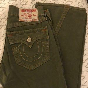True Religion Joey Bootcut Jeans Sz 28/33